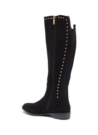 - SAM EDELMAN - 'Pia' stud suede kids knee high boots