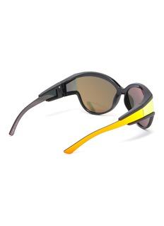 Balenciaga 'Unlimited' mirror acetate cat eye sunglasses