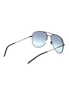 SAINT LAURENT Metal aviator sunglasses