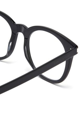 Detail View - Click To Enlarge - SAINT LAURENT - Acetate square optical glasses