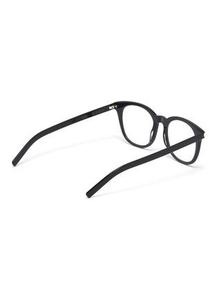 Figure View - Click To Enlarge - SAINT LAURENT - Acetate square optical glasses