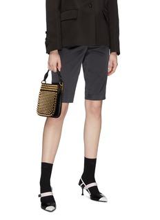 Prada 'Margit' stud small leather bag