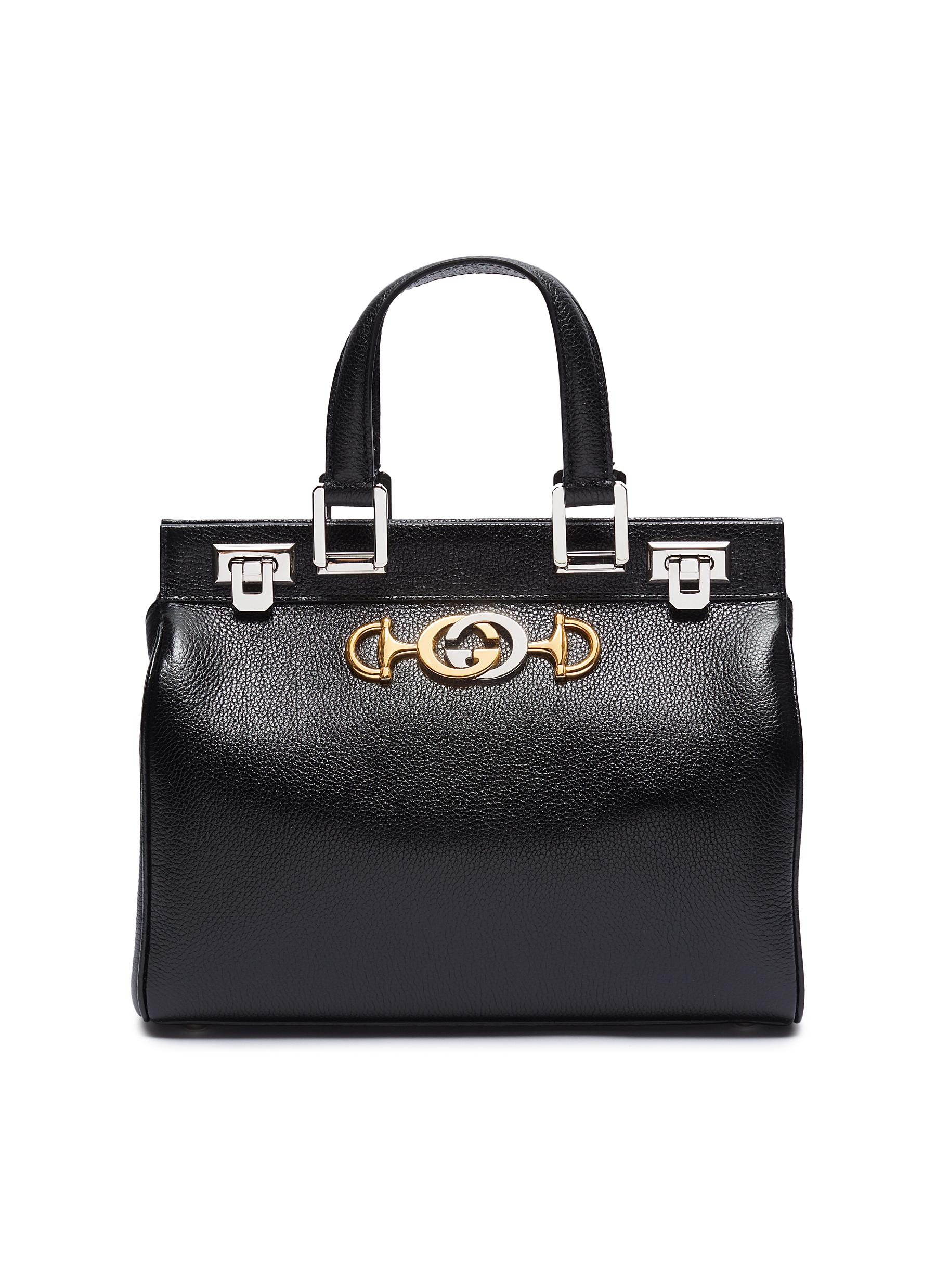 3b50596d3a3 Gucci.  Zumi  small leather top handle bag