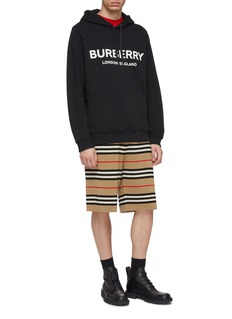 Burberry Logo print hoodie