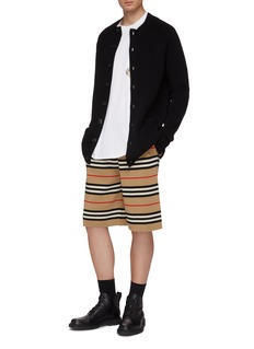 Burberry Patch pocket cashmere cardigan