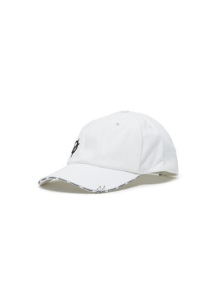 Main View - Click To Enlarge - VETEMENTS - x Reebok 'Anarchy' logo embroidered baseball cap