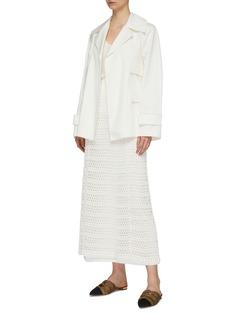 Theory Crocket knit skirt