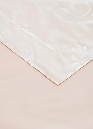 Detail View - Click To Enlarge - FRETTE - Luxury Medallion queen size duvet set – Powder Pink