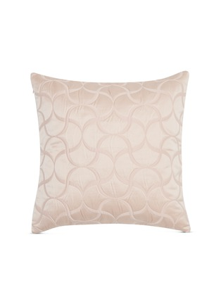 Main View - Click To Enlarge - FRETTE - Tile lux cushion – Powder Pink
