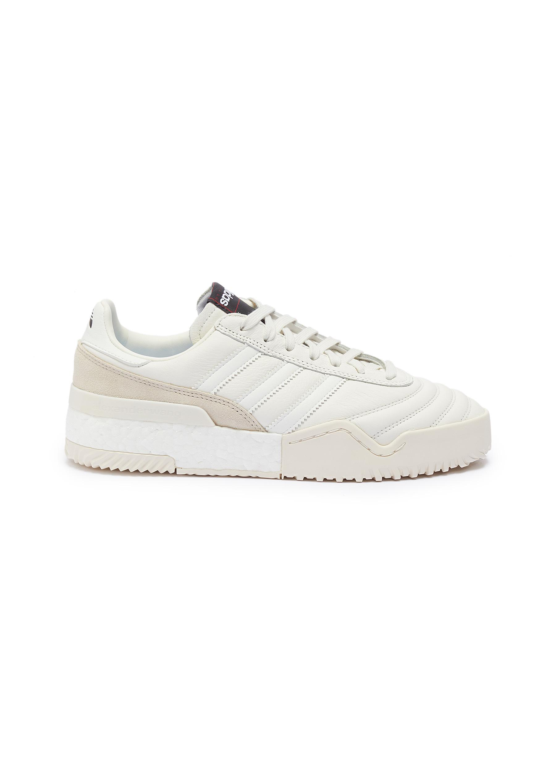 Ball Soccer panelled leather sneakers by Adidas Originals By Alexander Wang