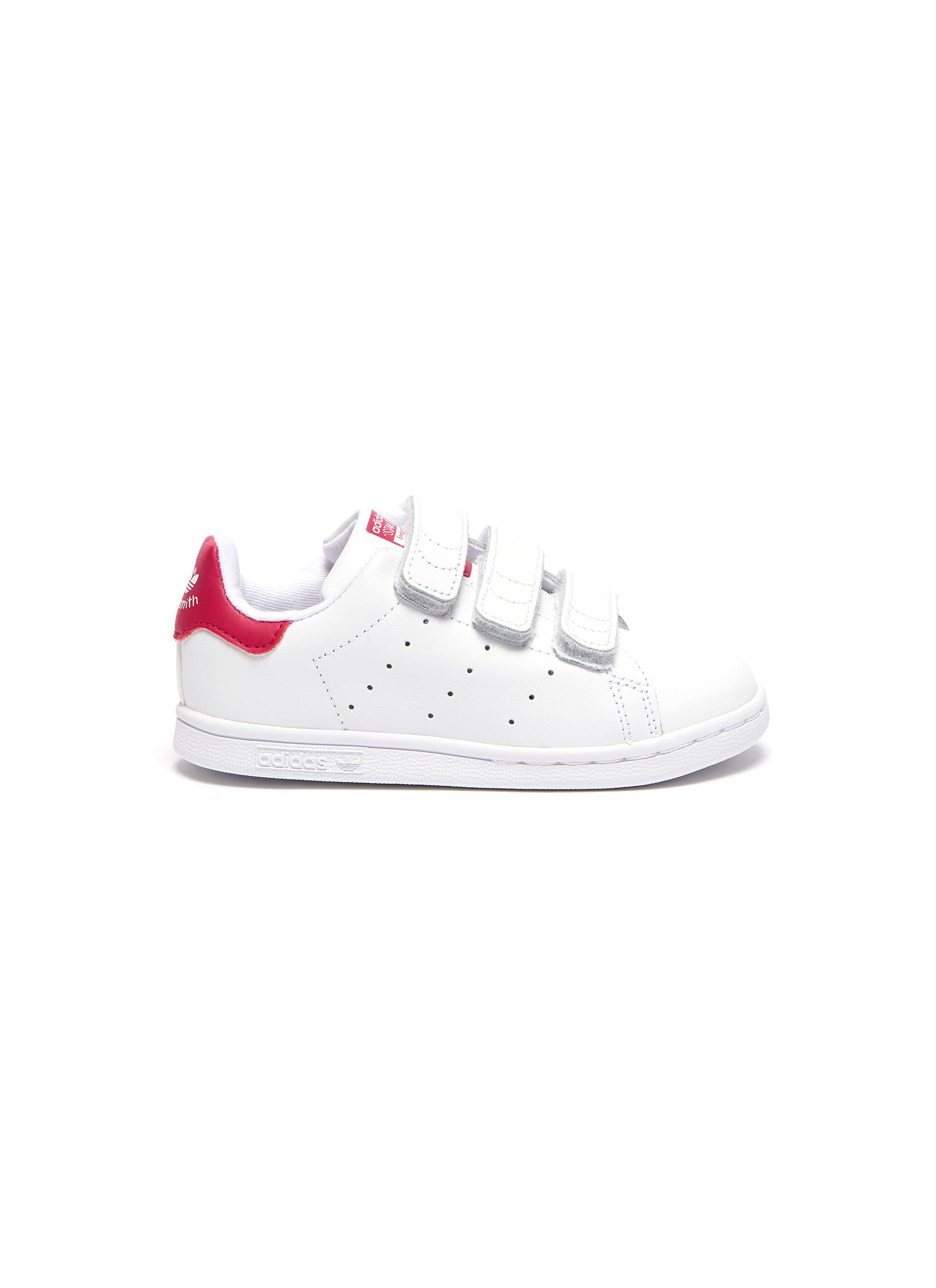 new style 493b2 c528e adidas.  Stan Smith CF I  leather toddler sneakers