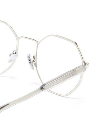 Detail View - Click To Enlarge - SUPER - 'Numero 62' metal octagonal frame optical glasses