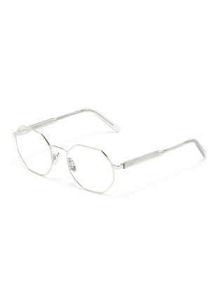 Main View - Click To Enlarge - SUPER - 'Numero 62' metal octagonal frame optical glasses