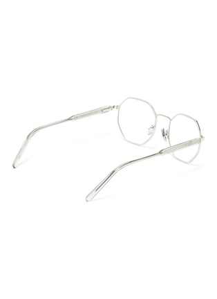 Figure View - Click To Enlarge - SUPER - 'Numero 62' metal octagonal frame optical glasses