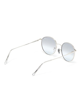 Figure View - Click To Enlarge - SUPER - 'Europa' metal round sunglasses