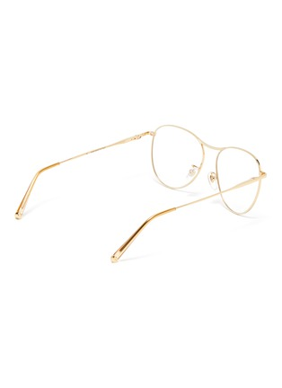 Figure View - Click To Enlarge - SUPER - 'Numero 60' metal oversized round optical glasses