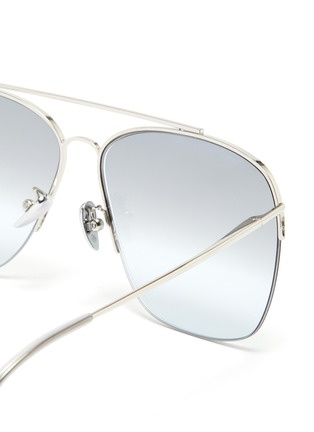 Detail View - Click To Enlarge - SUPER - 'Nazionale' metal aviator sunglasses