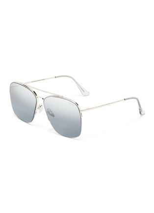 Main View - Click To Enlarge - SUPER - 'Nazionale' metal aviator sunglasses