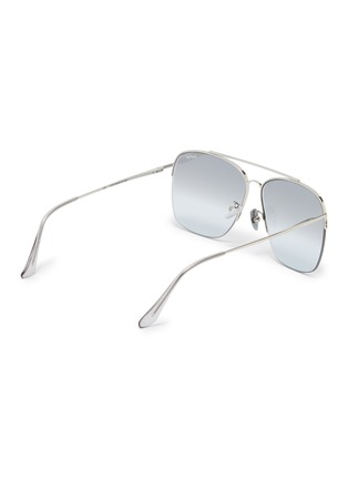 Figure View - Click To Enlarge - SUPER - 'Nazionale' metal aviator sunglasses