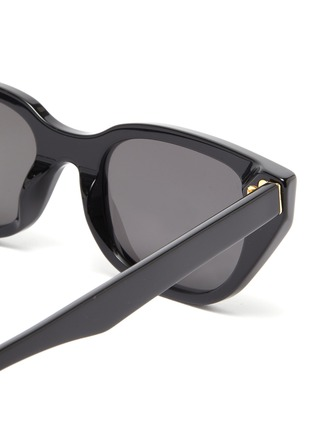 Detail View - Click To Enlarge - SUPER - 'Cento' acetate cat eye sunglasses
