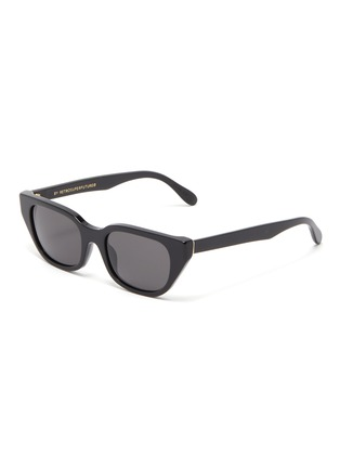 Main View - Click To Enlarge - SUPER - 'Cento' acetate cat eye sunglasses