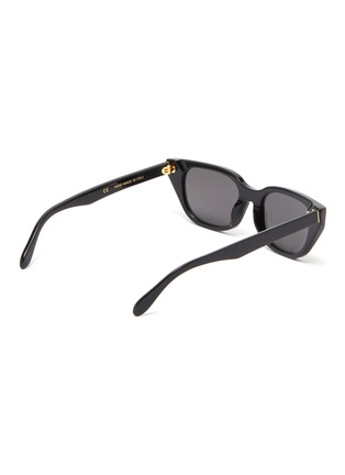 Figure View - Click To Enlarge - SUPER - 'Cento' acetate cat eye sunglasses