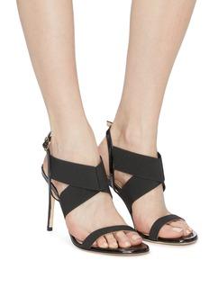 Stuart Weitzman 'Alana' cross strap sandals