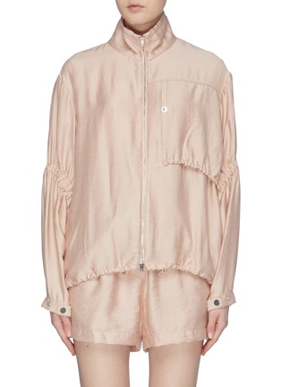 Main View - Click To Enlarge - 3.1 PHILLIP LIM - Ruched sleeve anorak