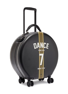 OOKONN x Studio Concrete round carry-on spinner suitcase – 7 Dance