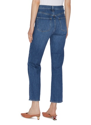 Back View - Click To Enlarge - J BRAND - 'Jules' cropped straight leg jeans