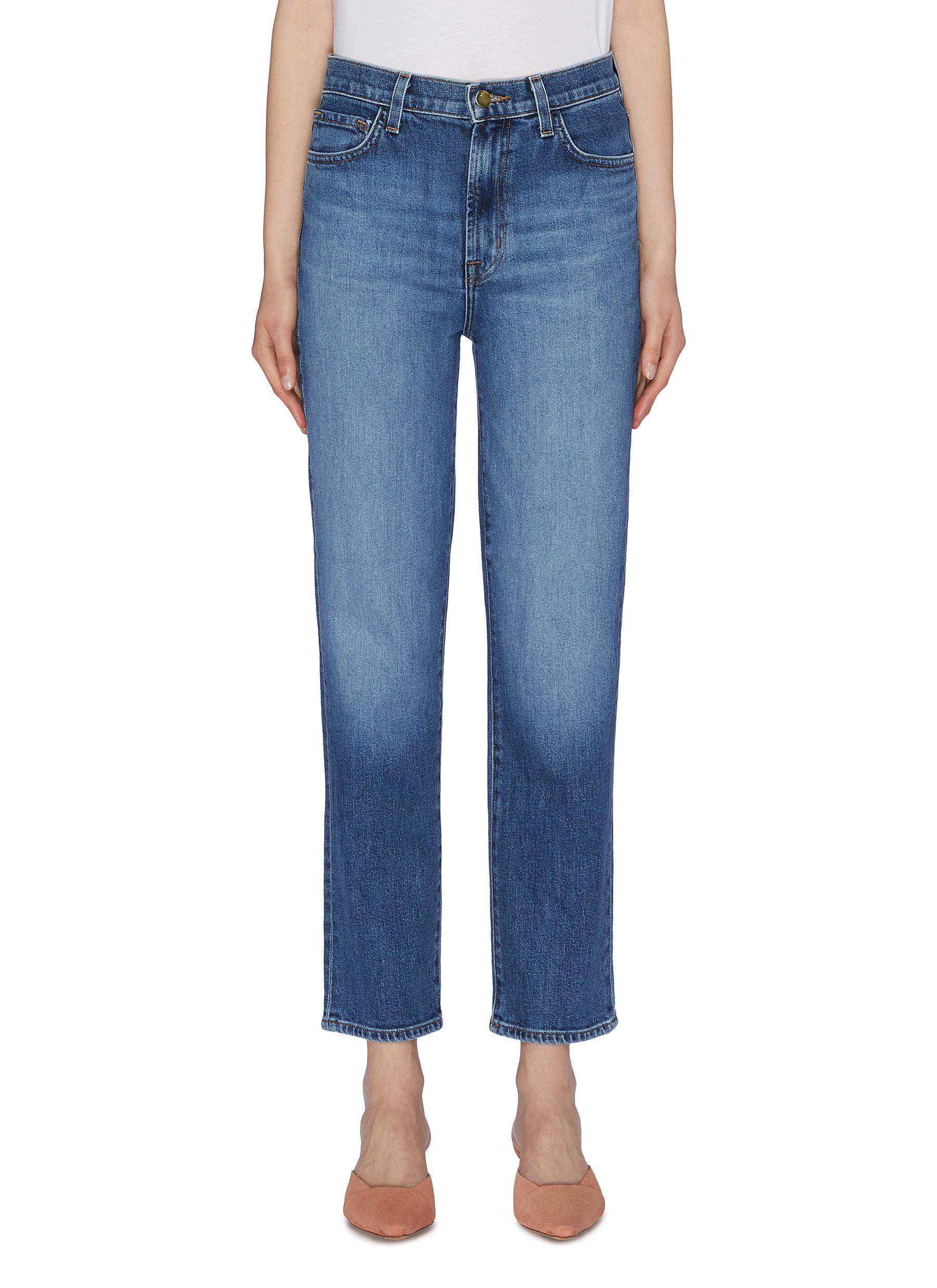 Jules cropped straight leg jeans by J Brand
