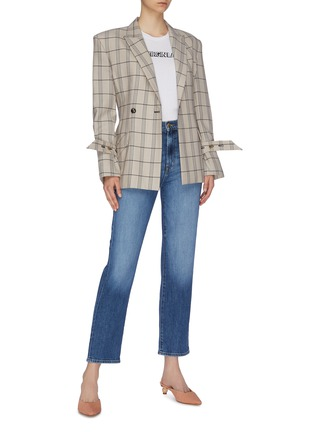 Figure View - Click To Enlarge - J BRAND - 'Jules' cropped straight leg jeans