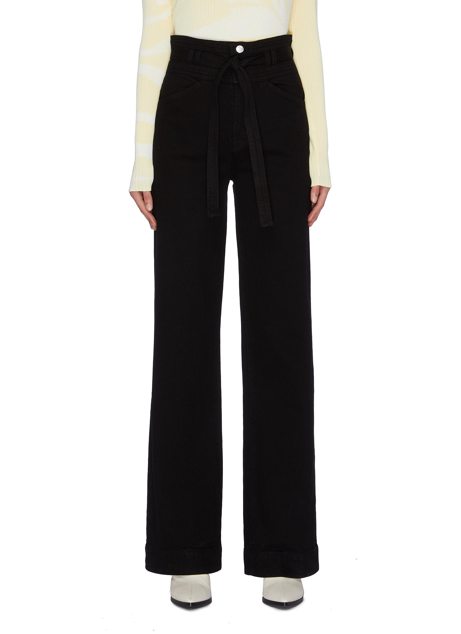 Sukey high rise wide leg jeans by J Brand