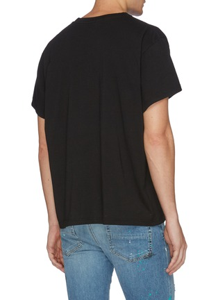 Back View - Click To Enlarge - AMIRI - Flame logo print T-shirt