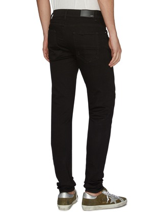 Back View - Click To Enlarge - AMIRI - 'Stack' distressed skinny jeans