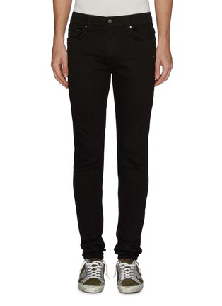 Main View - Click To Enlarge - AMIRI - 'Stack' distressed skinny jeans