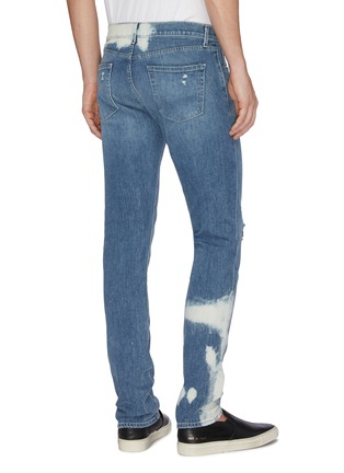 Back View - Click To Enlarge - J BRAND - Ripped knee slim fit jeans