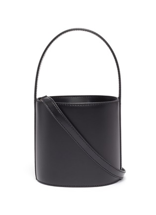 Main View - Click To Enlarge - STAUD - 'Bissett' leather bucket bag