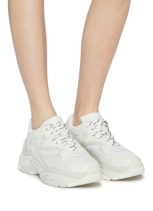 Figure View - Click To Enlarge - ASH - 'Addict' chunky outsole sneakers
