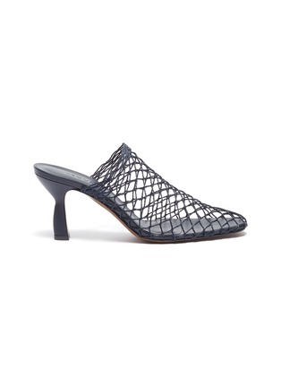 Main View - Click To Enlarge - NEOUS - 'Bophy' fishnet mules