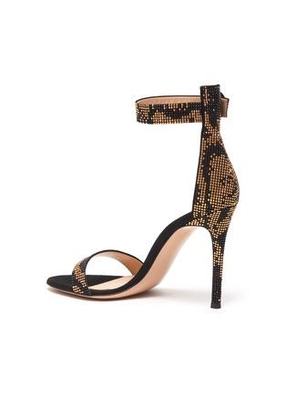 - GIANVITO ROSSI - 'Portofino 105' strass sandals