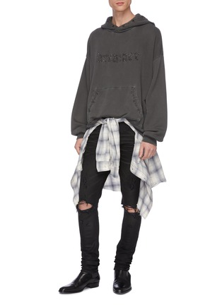 Figure View - Click To Enlarge - AMIRI - 'Thrasher Minimal' ripped jeans