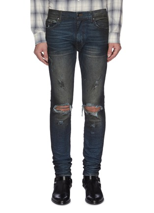 Main View - Click To Enlarge - AMIRI - 'Thrasher Minimal' ripped jeans