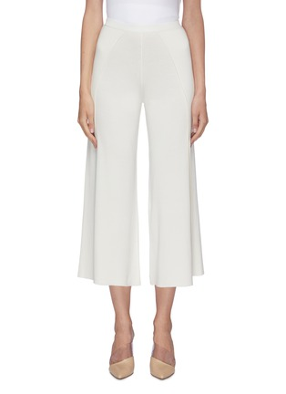 Main View - Click To Enlarge - CRUSH COLLECTION - Silk-cotton culottes