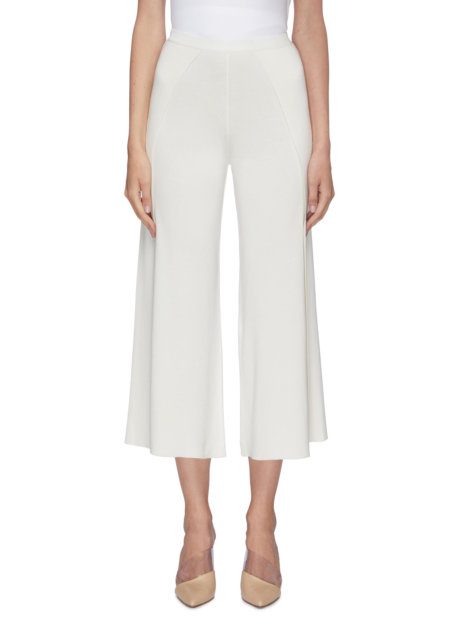Silk-cotton culottes by Crush Collection