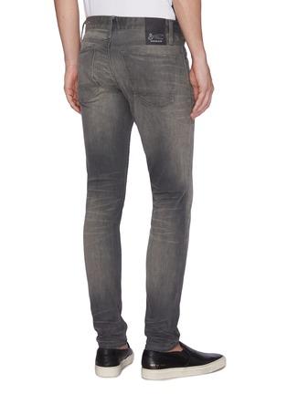 Back View - Click To Enlarge - DENHAM - 'Bolt' washed skinny jeans