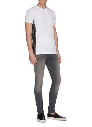 Figure View - Click To Enlarge - DENHAM - 'Bolt' washed skinny jeans