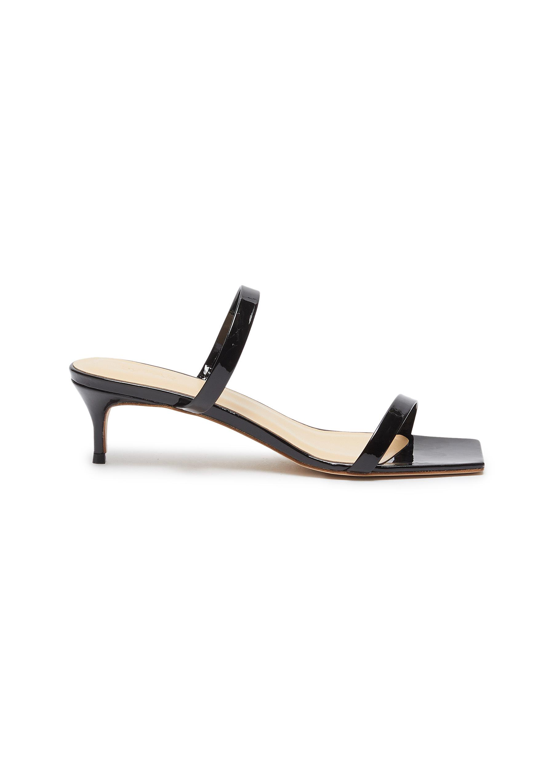 Thalia patent leather sandals by By Far