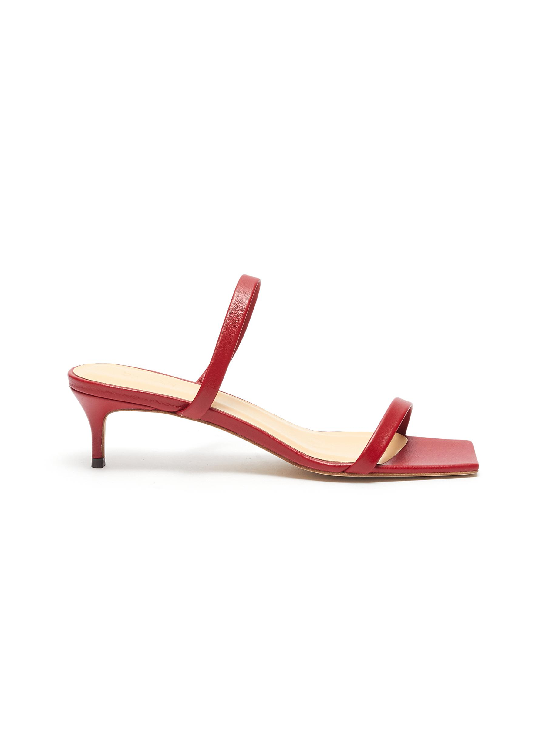 Thalia leather sandals by By Far