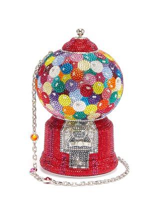 Main View - Click To Enlarge - JUDITH LEIBER - 'Gumball Machine' crystal pavé minaudière